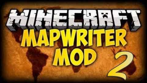 Мод Minecraft — Полноценная карта в игре / Mapwriter 2