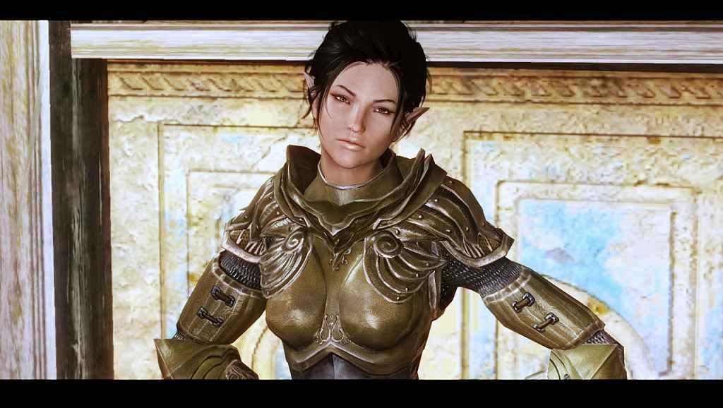 Мод Skyrim — новый компаньон Эрания