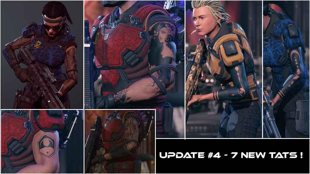 Мод XCOM 2 — Новые татуировки