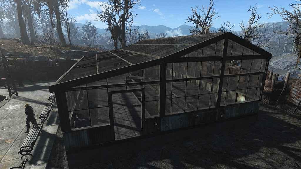 Мод Fallout — 4 — Строим Теплицу