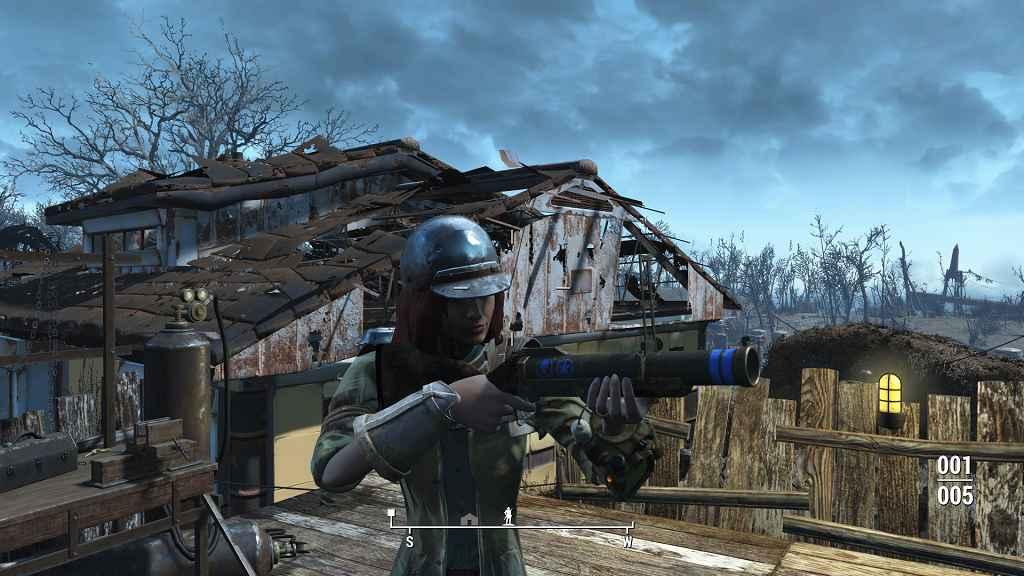 Мод Fallout 4 — Гранатомёт M79