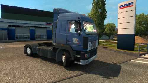 Мод ETS 2 — МАЗ-5440 А8