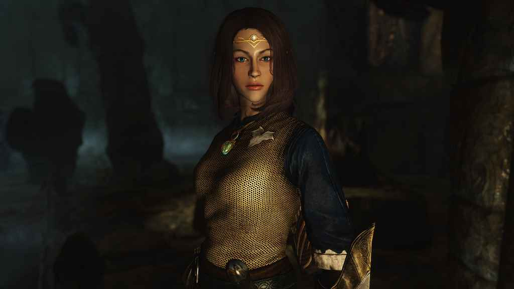 Мод Skyrim — Ретекстур губ у девушек людей и эльфов