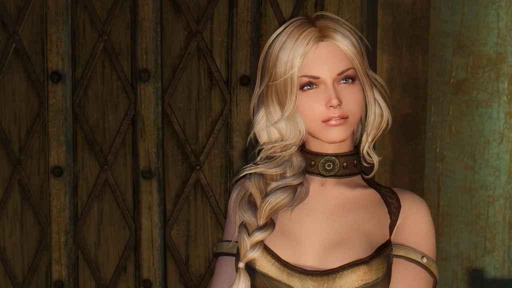 Мод Skyrim — Спутница Диана и пресет для RaceMenu и ECE