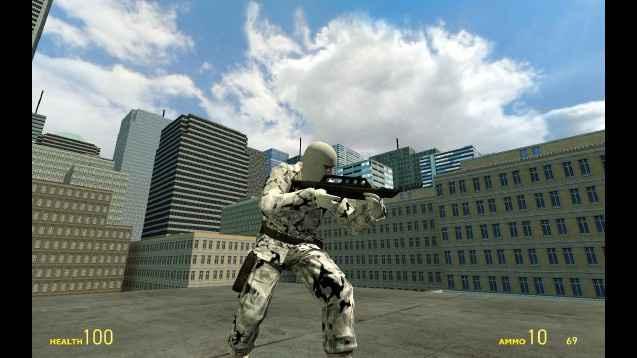 Мод Garry's Mod 13 — M9K Heavy Weapons