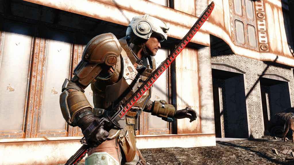 Мод Fallout 4 — Лазерная Катана