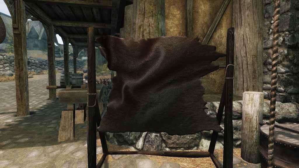 Мод Skyrim — Реплейсер кузницы