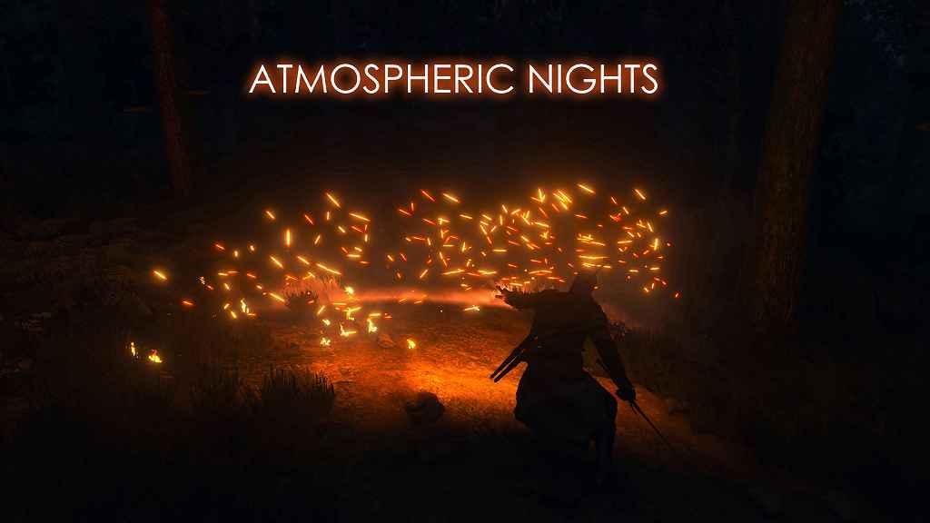 The Witcher 3 — Атмосферные ночи