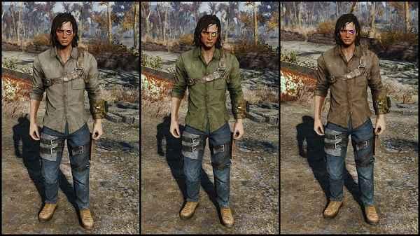 Мод Fallout 4 — Наряд грабителя