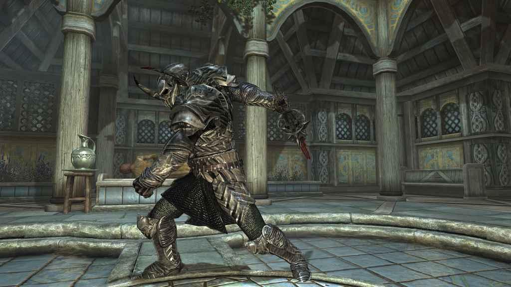 Мод Skyrim — Рыцарь Молаг бала