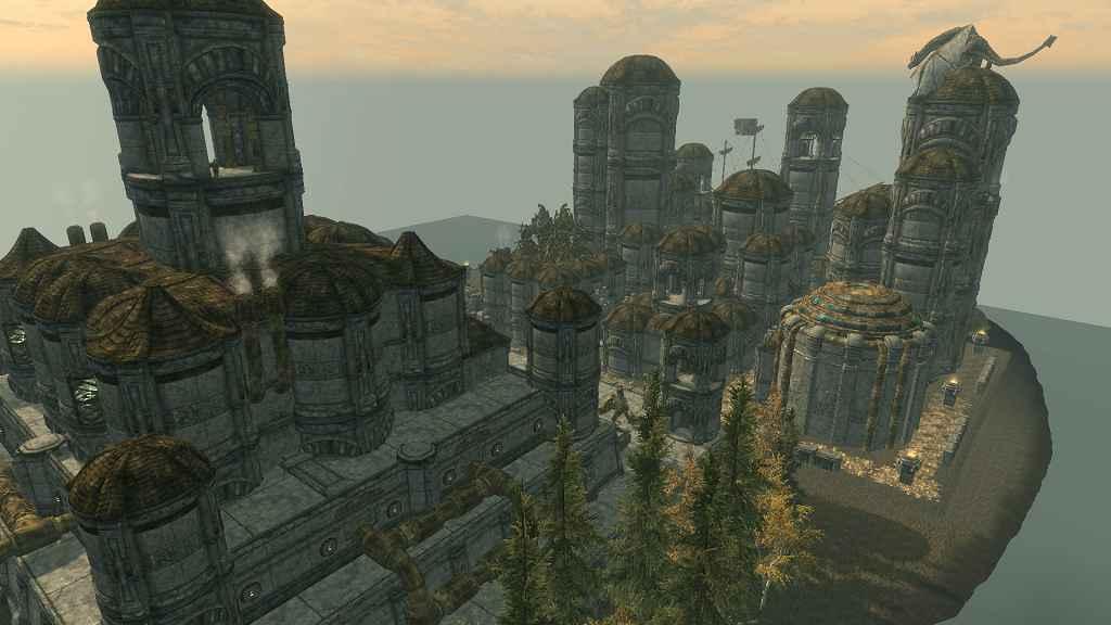 Мод Skyrim — Двемерский Остров
