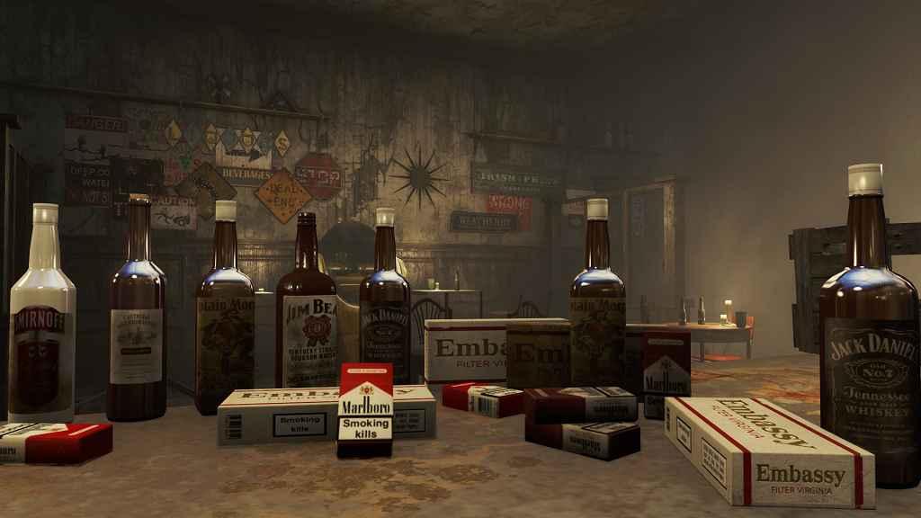 Мод Fallout 4 — Реплейсер табака и алкоголя