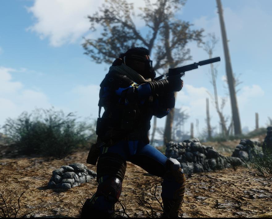 Мод Fallout 4 — Новая анимация от 3го лица