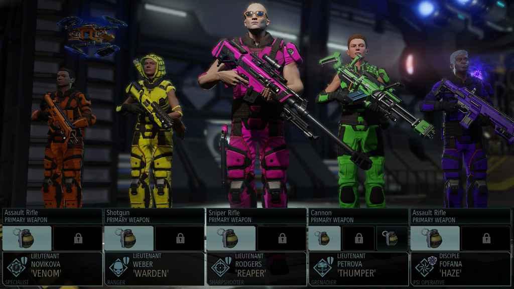 Мод XCOM 2 — Авто-раскраска отрядов