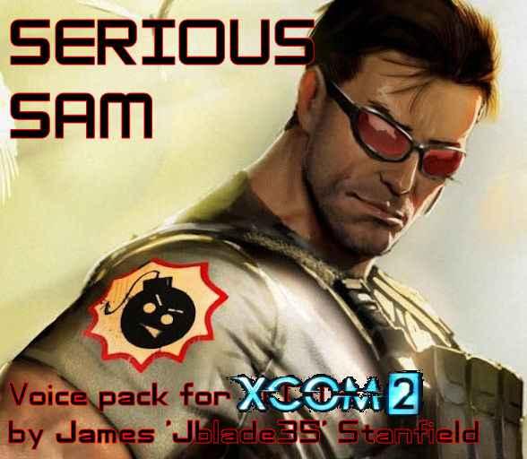 Модификация XCOM 2 — Голосовой пак из Serious Sam