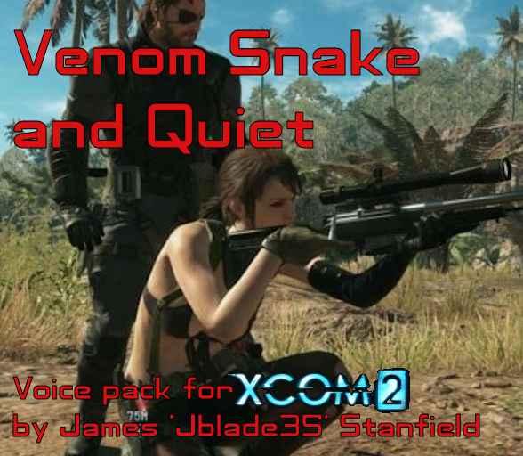 Мод XCOM 2 — Голосовой пак из Metal Gear Solid V