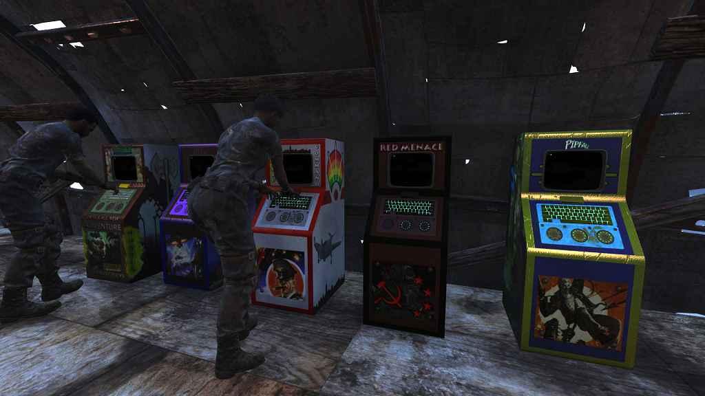 Мод Fallout 4 — Строим аркадные машины