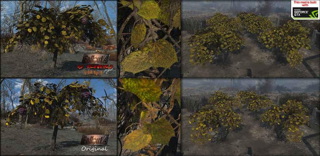 Мод Fallout 4 — Проект HD — переработка
