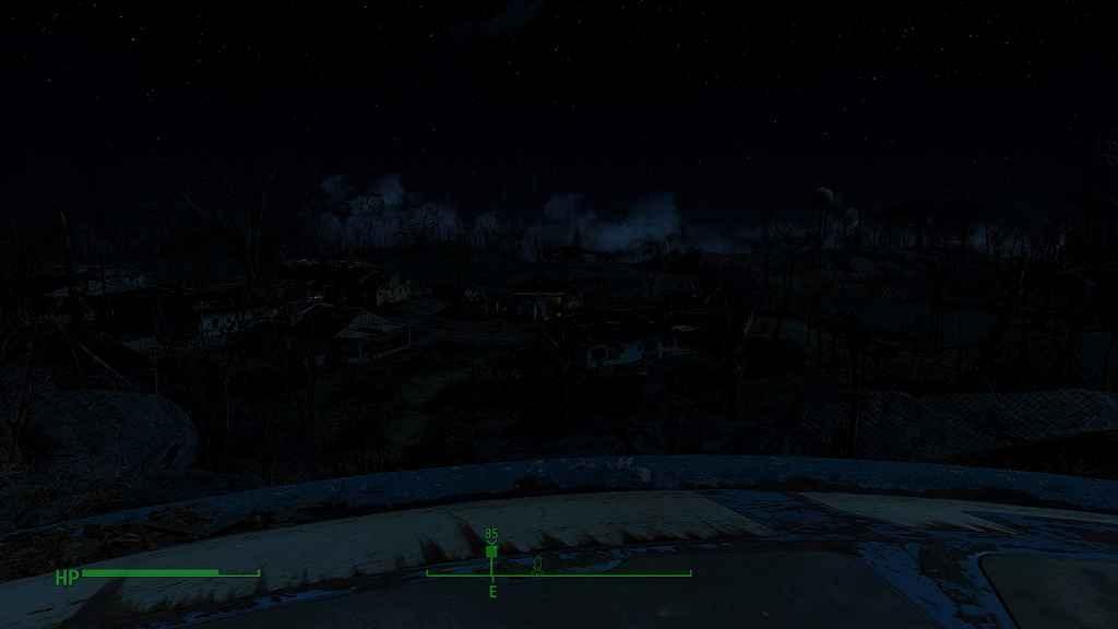 Fallout 4 — Реалистичное освещение