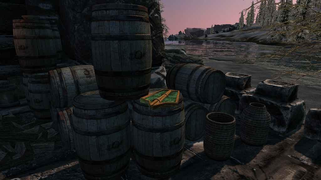 Мод Skyrim — Аргонианский щит
