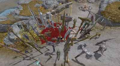 Мод Skyrim — Заклинание «Стена мечей»