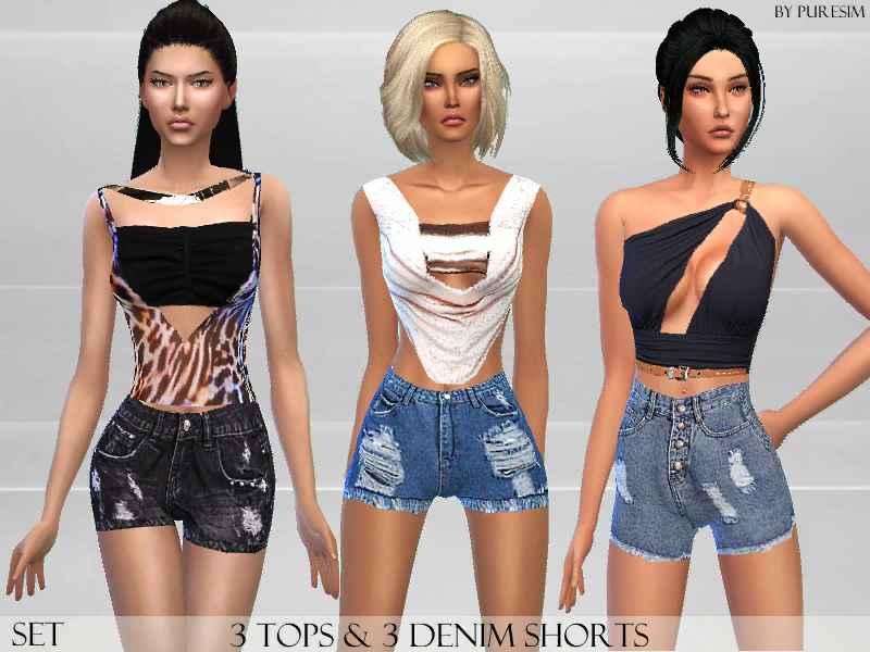 Мод Sims 4 — Модный набор