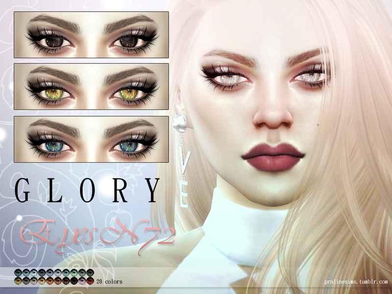 Мод Sims 4 — Кристальные глаза