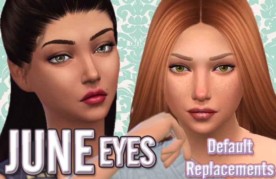 Мод Sims 4 — Замена оригинальных глаз