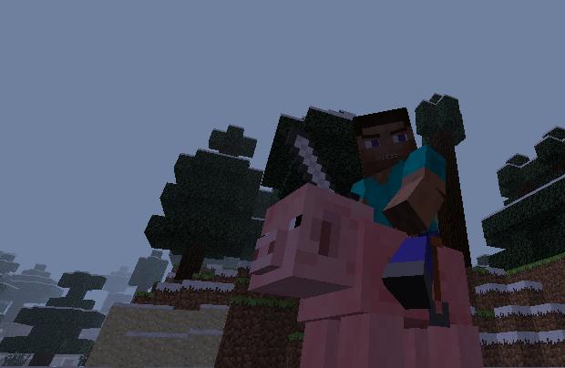 Мод Minecraft — Animated Player / Анимированный персонаж