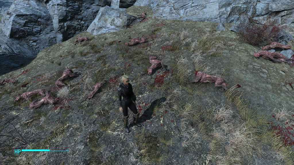 Мод Fallout 4 — Больше врагов