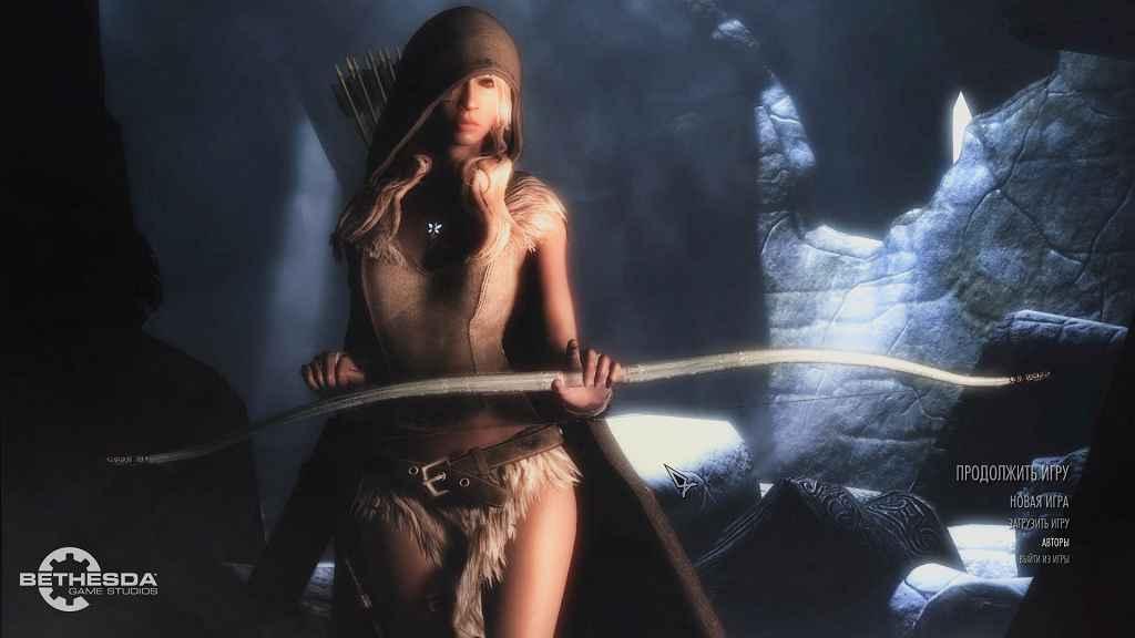 Skyrim — Сборка модов, брони и анимации