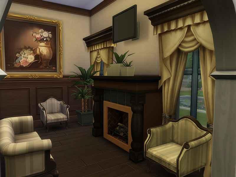 Мод Sims 4 — Коттедж Риверола