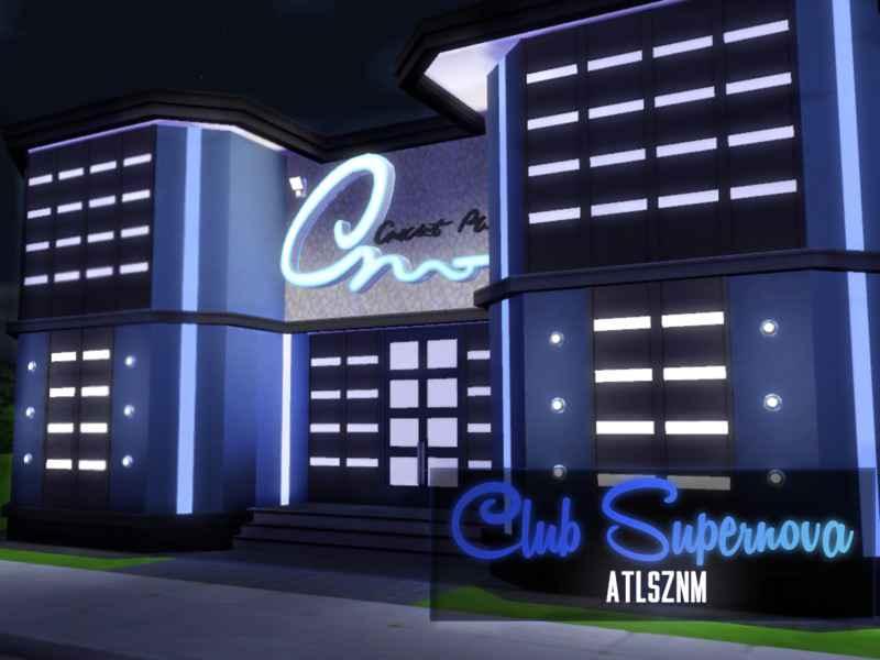 Мод Sims 4 — Ночной клуб «Супернова»
