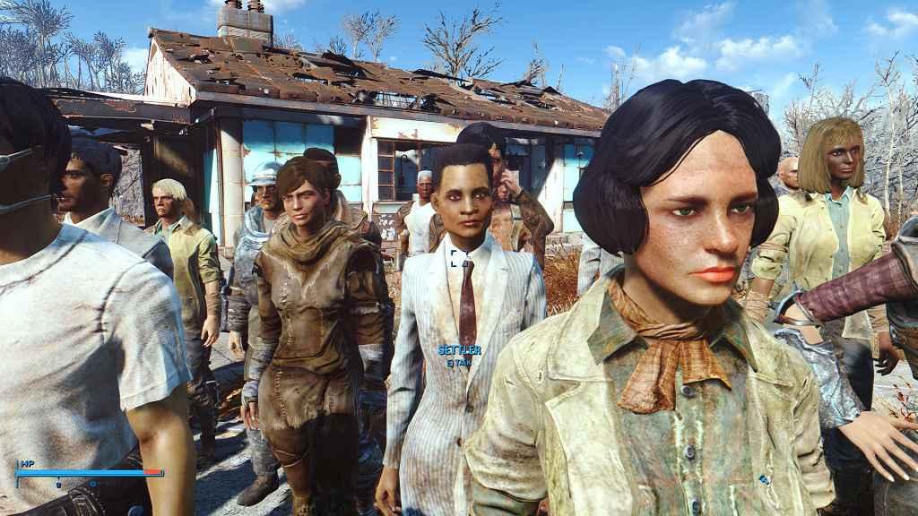 Мод Fallout 4 — Улучшенные поселенцы