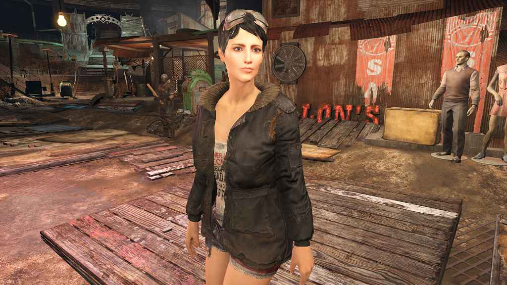 Мод Fallout 4 — Рестайлинг Кюри