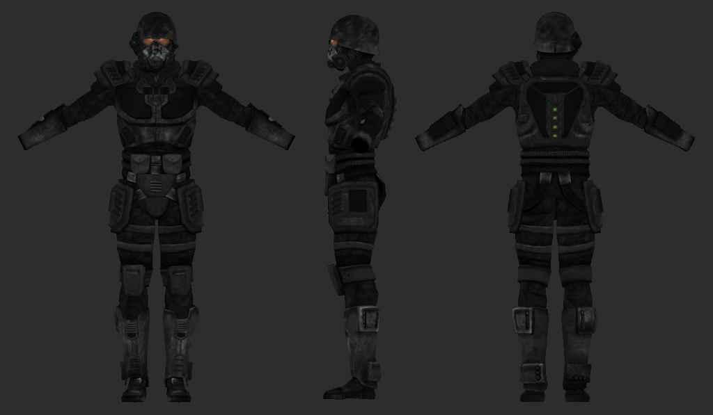 Модификация Fallout: New Vegas — Российская броня Призрак