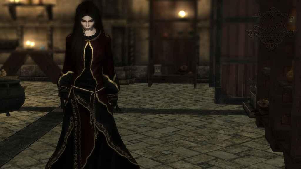 Мод Skyrim — 3 новые магические робы