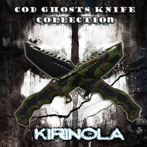 Garrys mod 13 — CoD Ghosts Knife Collection
