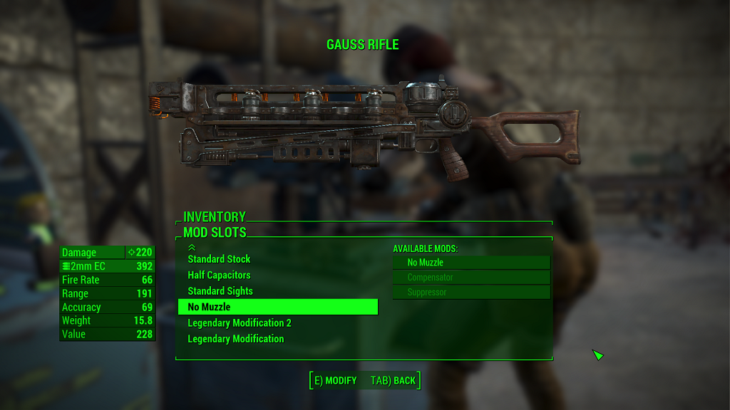 Мод Fallout 4 — Крафт легендарных модификаций