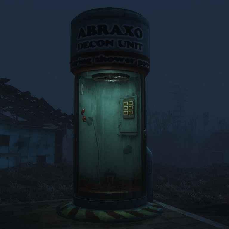 Мод Fallout 4 — Обеззараживающая кабина