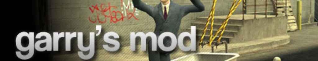Мод Garry's Mod 13 — Контент из игр (текстуры и карты)