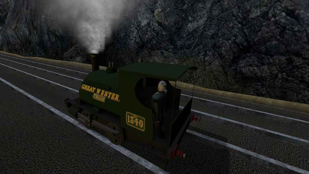 Мод Garrys mod 13 — Паровой локомотив 0-4-0