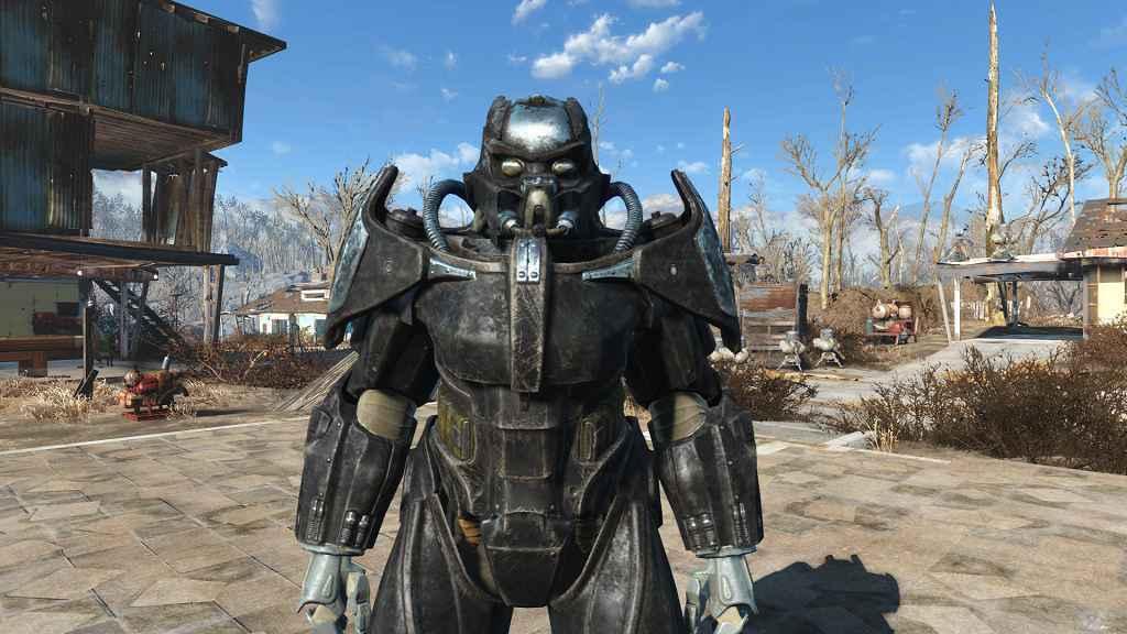 Мод Fallout 4 — Силовая броня «Анклав Х-02»