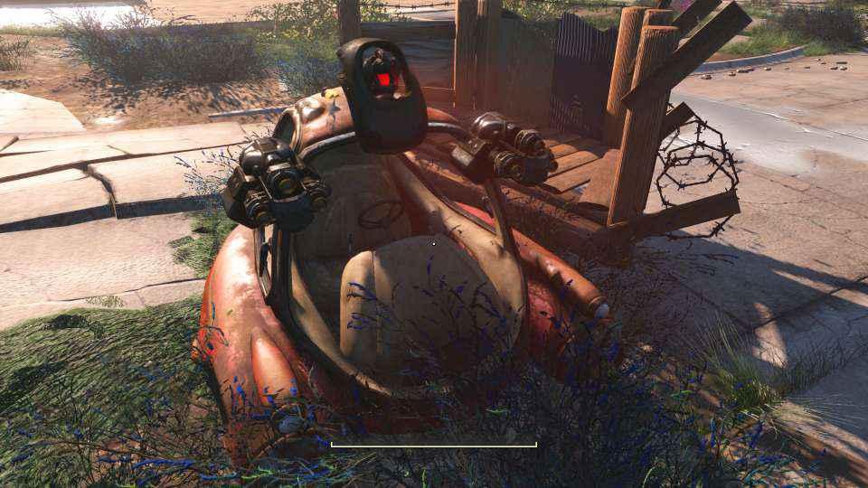 Мод Fallout 4 — Мини автобот
