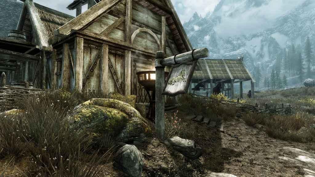 Мод Skyrim — Ветреный Скайрим