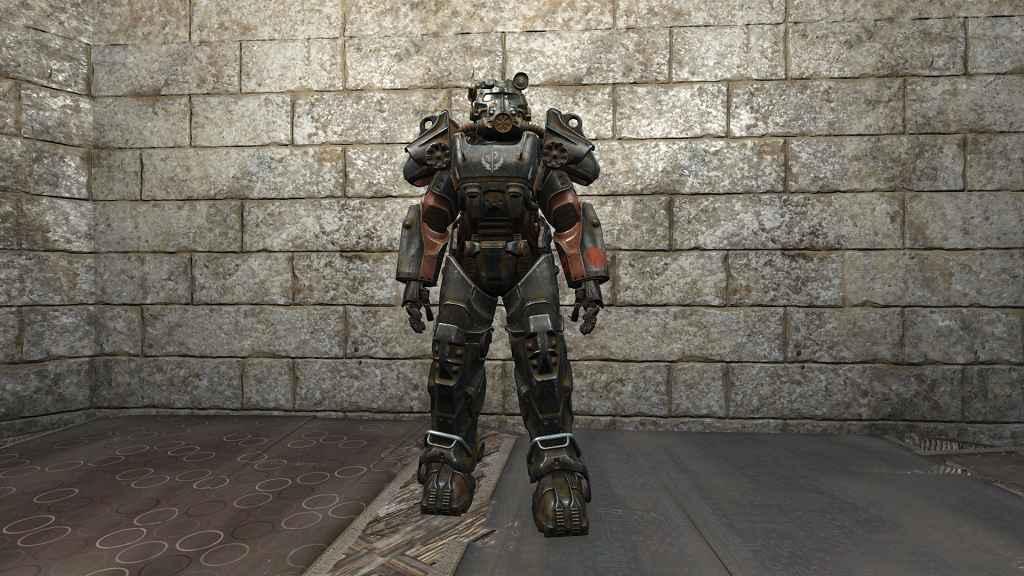 Мод Fallout 4 — Новая анимация силовой брони