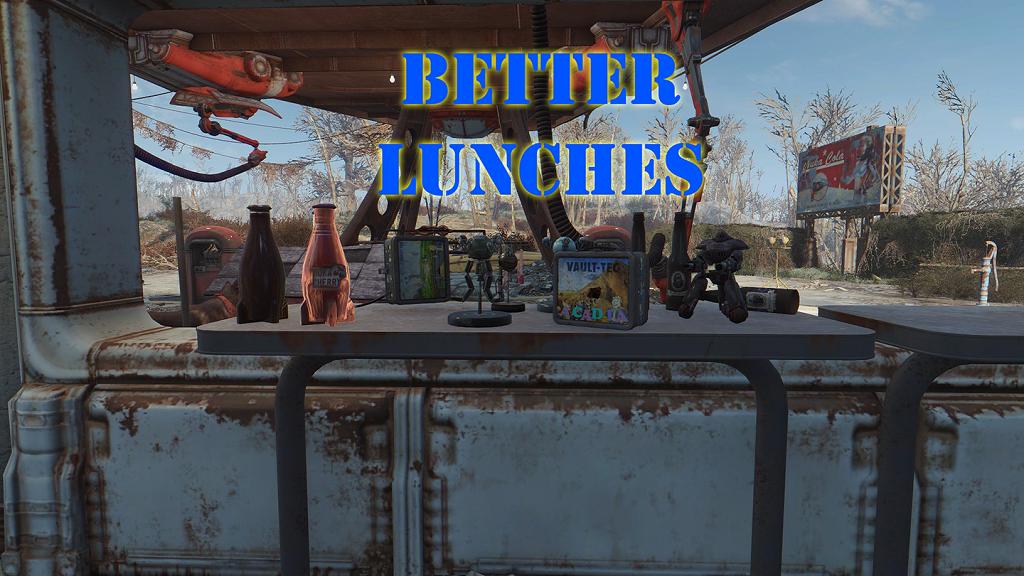 Мод Fallout 4 — Улучшенный дроп с Ланчбоксов «Волт-Тек»
