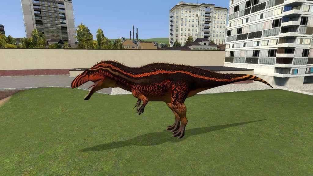 Мод Garrys Mod 13 — Акрокантозавры