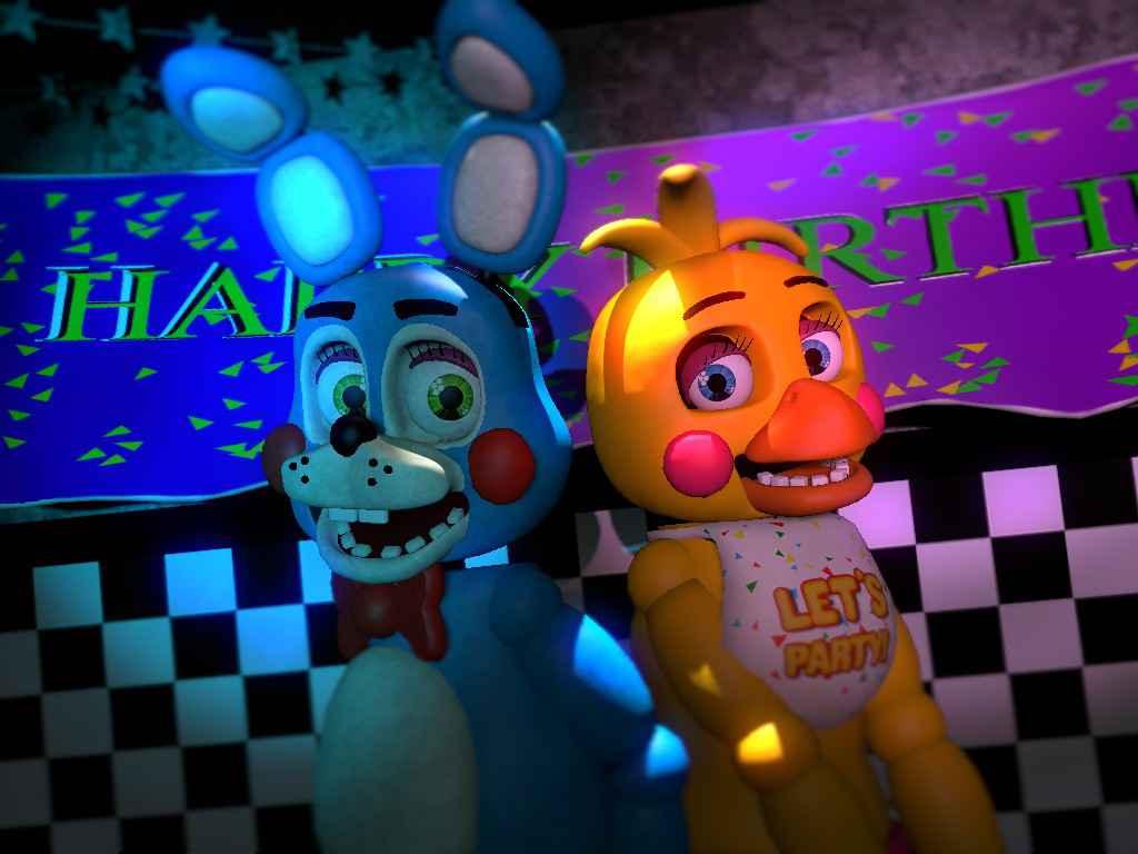 Мод Garrys mod 13 — [FNAF2] Toy Chica и Toy Bonnie