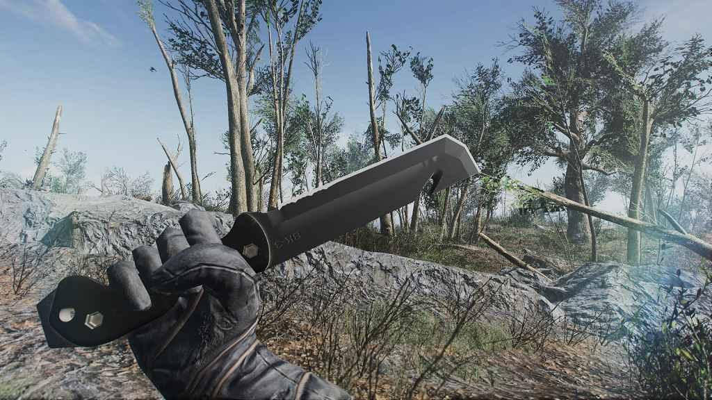 Мод Fallout 4 — Тактический нож Ка-бар